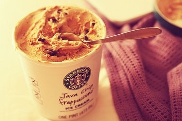 Starbucks Ice Cream  uploaded by Diana R.