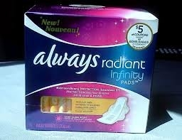 Always Radiant Infinity Pads with Flexi-Wings uploaded by Diana V.
