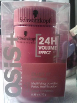 Photo of Schwarzkopf Professional OSiS+ Dust It Mattifying Powder uploaded by Giovanna C.