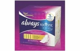 Always Radiant Infinity Pads with Flexi-Wings uploaded by Rachel F.