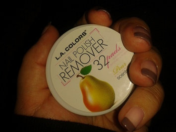 L.A. Colors Nail Polish Remover Pads  uploaded by Tina C.