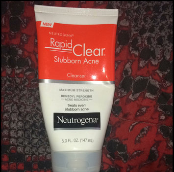 Photo of Neutrogena® Rapid Clear Stubborn Acne Cleanser uploaded by Adrianna G.