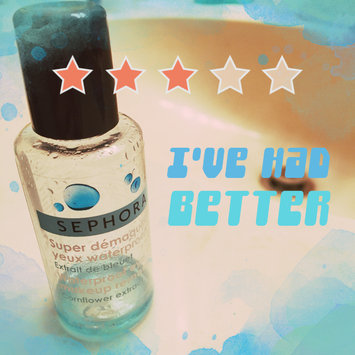 Photo of SEPHORA COLLECTION Waterproof Eye Makeup Remover uploaded by Kat J.