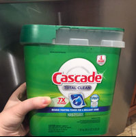 Cascade ActionPacs All-in-1 Lemon Burst Scent Dishwasher Detergent 72 ct Tub uploaded by Nora G.