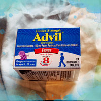 Advil® Junior Strength Chewables Tablets Grape uploaded by Myshella D.