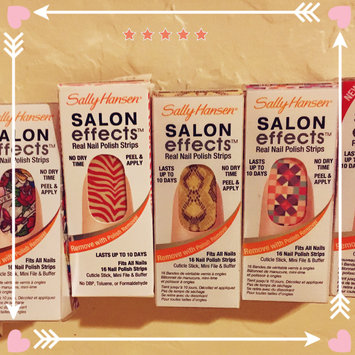 Photo of Sally Hansen® Salon Effects Real Nail Polish Strips uploaded by Sarah K.
