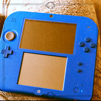 Nintendo 2DS Handheld Gaming System - Electric Blue uploaded by Robert W.
