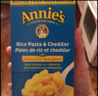 Annie's® Creamy Deluxe Gluten Free Rice Pasta & Extra Cheesy Cheddar Sauce uploaded by Mary R.
