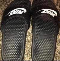 black Nike Girls' Kawa Slide Sandals from Finish Line uploaded by Jevaeh W.