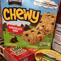 Quaker® 25% Less Sugar Chewy Granola Bars Chocolate Chip uploaded by Ilyasin M.