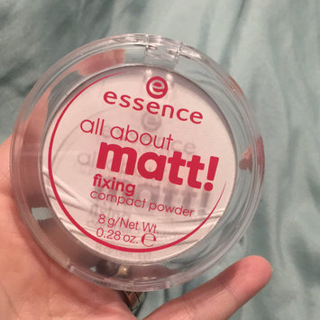 Photo of Essence All About Matt! Fixing Compact Powder uploaded by Rachael R.