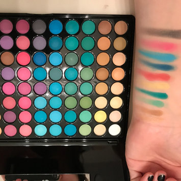 Photo of BH Cosmetics 88 Matte Eyeshadow Palette uploaded by Ashley D.