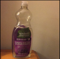 Seventh Generation™ Lavender Floral & Mint Natural Dish Liquid 50 fl. oz. Plastic Bottle uploaded by Jessica E.
