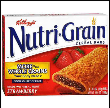 Photo of Kellogg's® Nutri-Grain® Cereal Bars Strawberry uploaded by Samantha J.