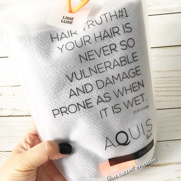 Photo of AQUIS Lisse Luxe Hair Towel uploaded by Marie T.