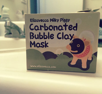 Elizavecca Milky Piggy Carbonated Bubble Clay Mask uploaded by Melissa T.