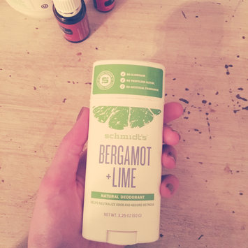 Photo of Schmidt's Bergamot + Lime Natural Deodorant uploaded by Jillian C.