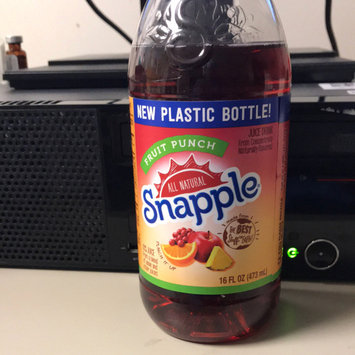 Photo of Snapple Fruit Punch Juice uploaded by Trice L.