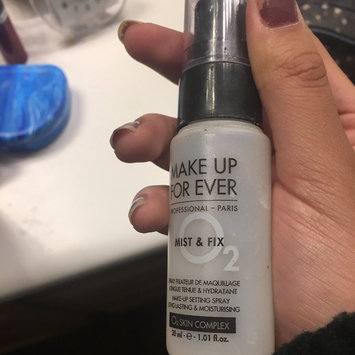 Photo of MAKE UP FOR EVER Mist & Fix Setting Spray uploaded by Francine S.