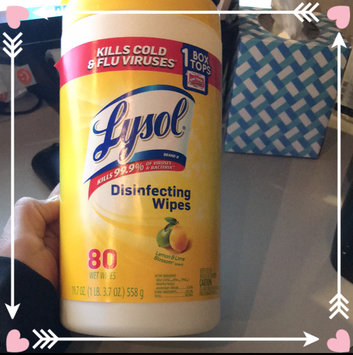 Photo of Lysol Disinfecting Wipes - Lemon uploaded by Jazzmyn G.