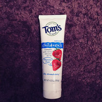 Toms Of Maine Children's Natural Fluoride Toothpaste Strawberry, 4.2 OZ (Pack of 2) uploaded by Veronica M.