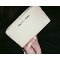 Michael Kors Wallet: Jet Set Travel Metallic Leather Continental Wallet in Pale Gold uploaded by Vanessa V.