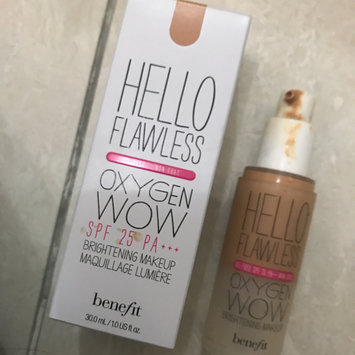Photo uploaded to Benefit Cosmetics Hello Flawless Oxygen Wow! Liquid Foundation by Shei5a A.