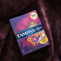 Tampax Radiant Plastic Regular Absorbency Tampons uploaded by Dana L.