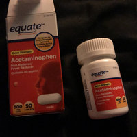 Equate Extra Strength Acetaminophen Pain Reliever/Fever Reducer Caplets, 500mg, 200 count uploaded by briseida S.