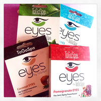ToGoSpa Green Tea - Rejuvenating Eye Pads 3 piece uploaded by Alina N.