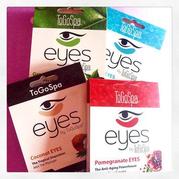 Photo of ToGoSpa Green Tea - Rejuvenating Eye Pads 3 piece uploaded by Alina N.