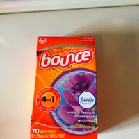 Bounce® with Febreze™ Spring & Renewal® Fabric Softener Sheets 200 ct Box uploaded by Jessica R.