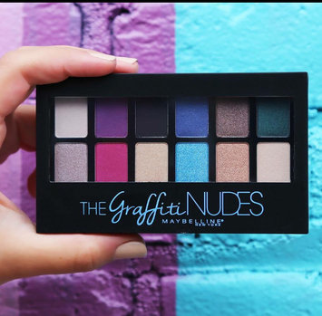 Photo uploaded to Maybelline® New York The Graffiti Nudes Eyeshadow Palette by Angelina B.