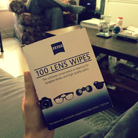 Zeiss Lens Cleaning Wipes 100 Count Pre-moistened Wipes uploaded by Deborah S.