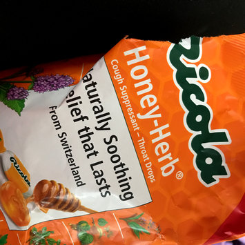 Photo of Ricola Honey-Herb® Cough Suppressant - Throat Drops 50 ct Bag uploaded by Breana M.