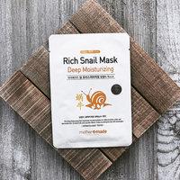 mother made - Deep Moisturizing Rich Snail Mask 1pc 25ml uploaded by Shanna C.