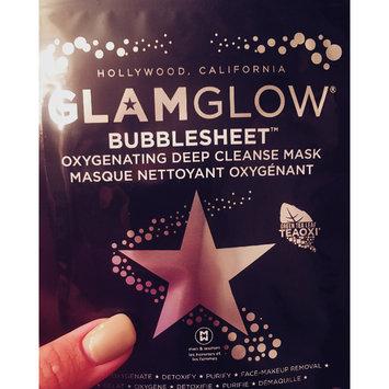 Photo of GLAMGLOW BUBBLESHEET Oxygenating Deep Cleanse Mask uploaded by Kasandra F.