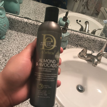 Photo of Design Essentials Natural Almond & Avocado Detangling Leave-In Conditioner for Natural Hair uploaded by Kassandra D.