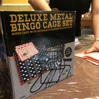 Cardinal Classic Games Deluxe Metal Bingo Cage Set uploaded by Jenna S.