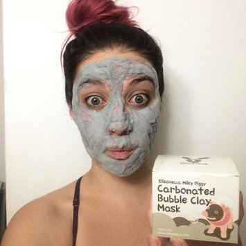 Photo of Elizavecca Milky Piggy Carbonated Bubble Clay Mask uploaded by Ashes D.