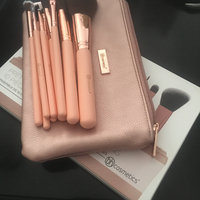 BH Cosmetics Pretty In Pink 10 Piece Brush Set With Cosmetic Bag uploaded by Sara R.
