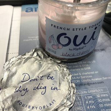 Photo of Oui™ Yoplait® Blackcherry Flavored French Style Yogurt uploaded by Karen S.