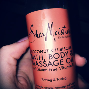Photo of SheaMoisture Cocnut & Hibiscus Bath, Body & Massage Oil uploaded by Zoryana A.