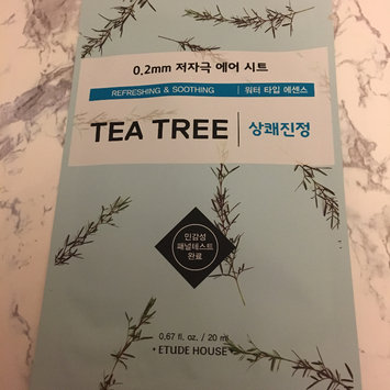 Photo of Etude House 0.2 Therapy Air Mask 1pc Tea Tree uploaded by Camille O.