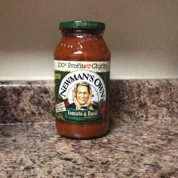 Photo of Newman's Own All Natural Tomato & Basil Pasta Sauce uploaded by Miranda F.