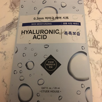 Photo of Etude House 0.2 Therapy Air Mask 1pc Hyaluronic Acid uploaded by Camille O.