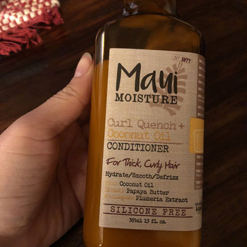 Photo of Maui Moisture Curl Quench + Coconut Oil Conditioner uploaded by Julia F.