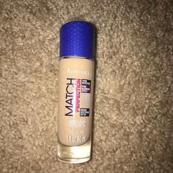 Photo of Rimmel London - Match Perfection Light Perfecting Radiance Foundation (SPF18) - 100 Ivory uploaded by Calie A.