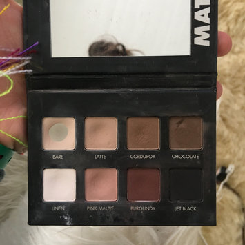 Photo of LORAC PRO Matte Eye Shadow Palette (Chocolate/Red/Latte) uploaded by allie s.