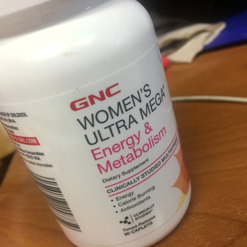 Photo of GNC Women's Ultra Mega(r) Energy & Metabolism uploaded by Valencia P.